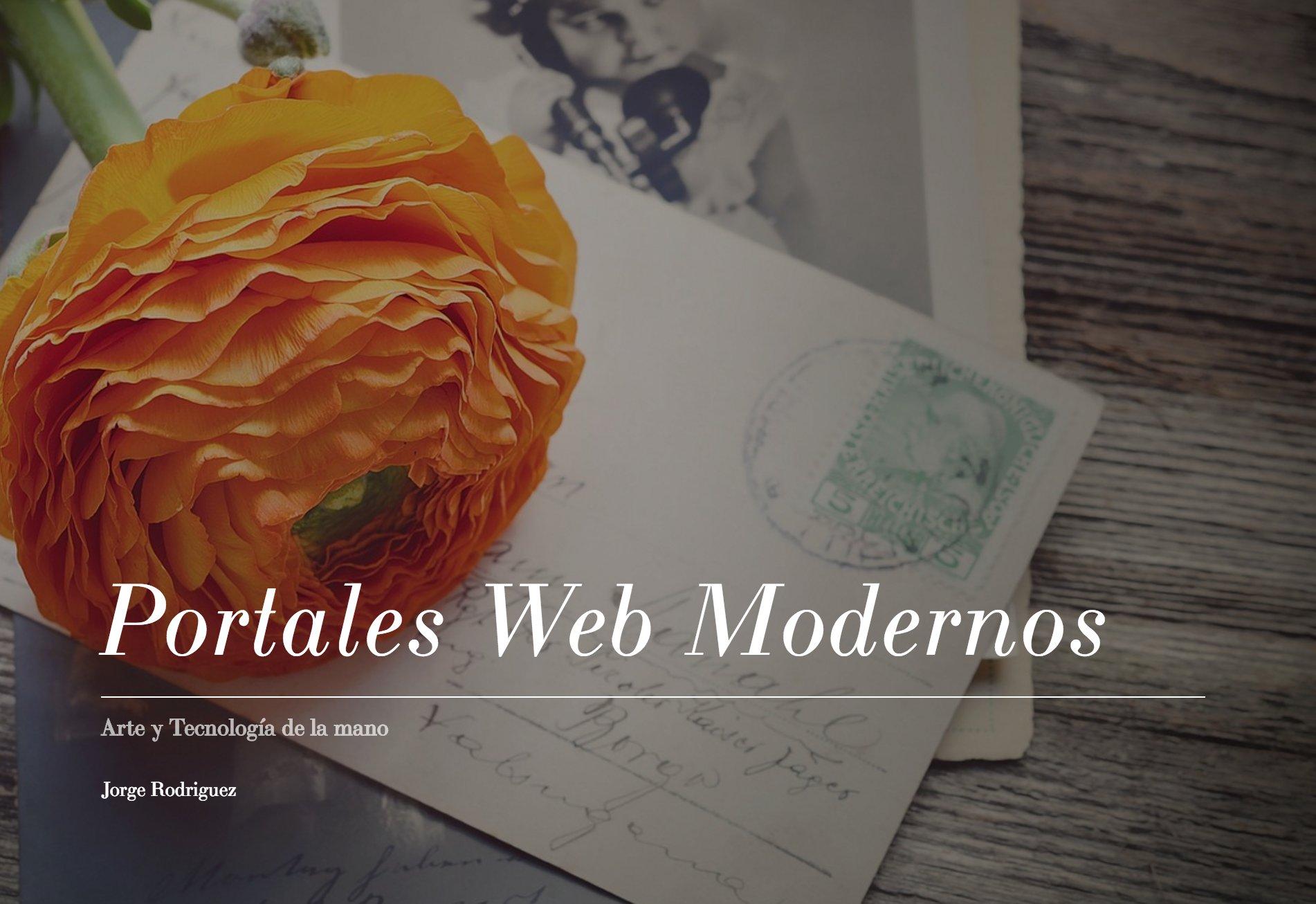 Portales Web Modernos